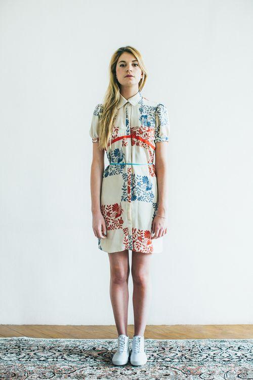 8PON.PONyannaudic_ponpon_ss2014 robe chemise soie 260 EURO